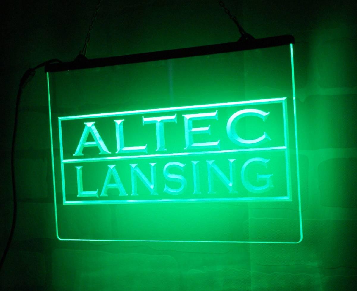 Altec Lansing LED ネオンサイン