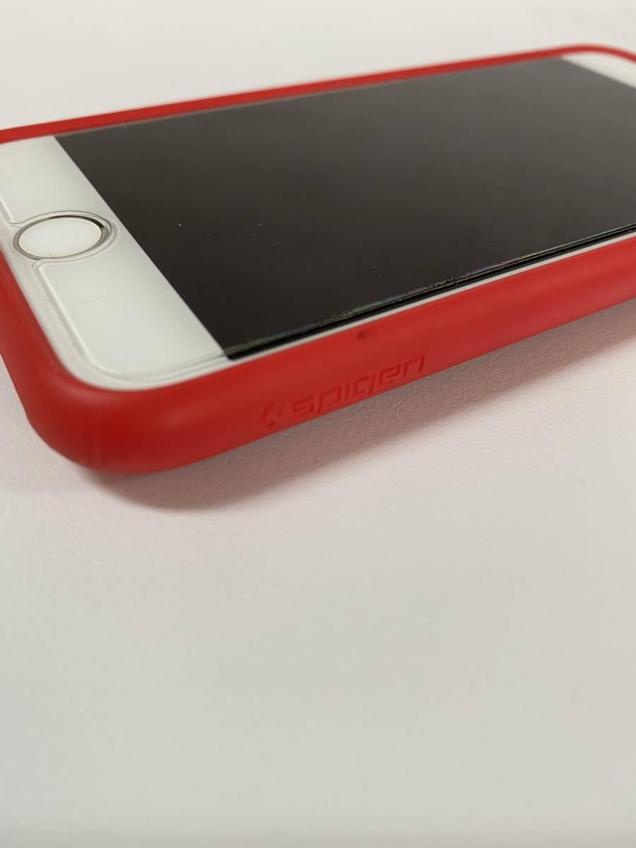 美品 Apple iPhone 7 256GB PRODUCT RED SIMフリー 付属品未使用 アップルストア購入_画像7