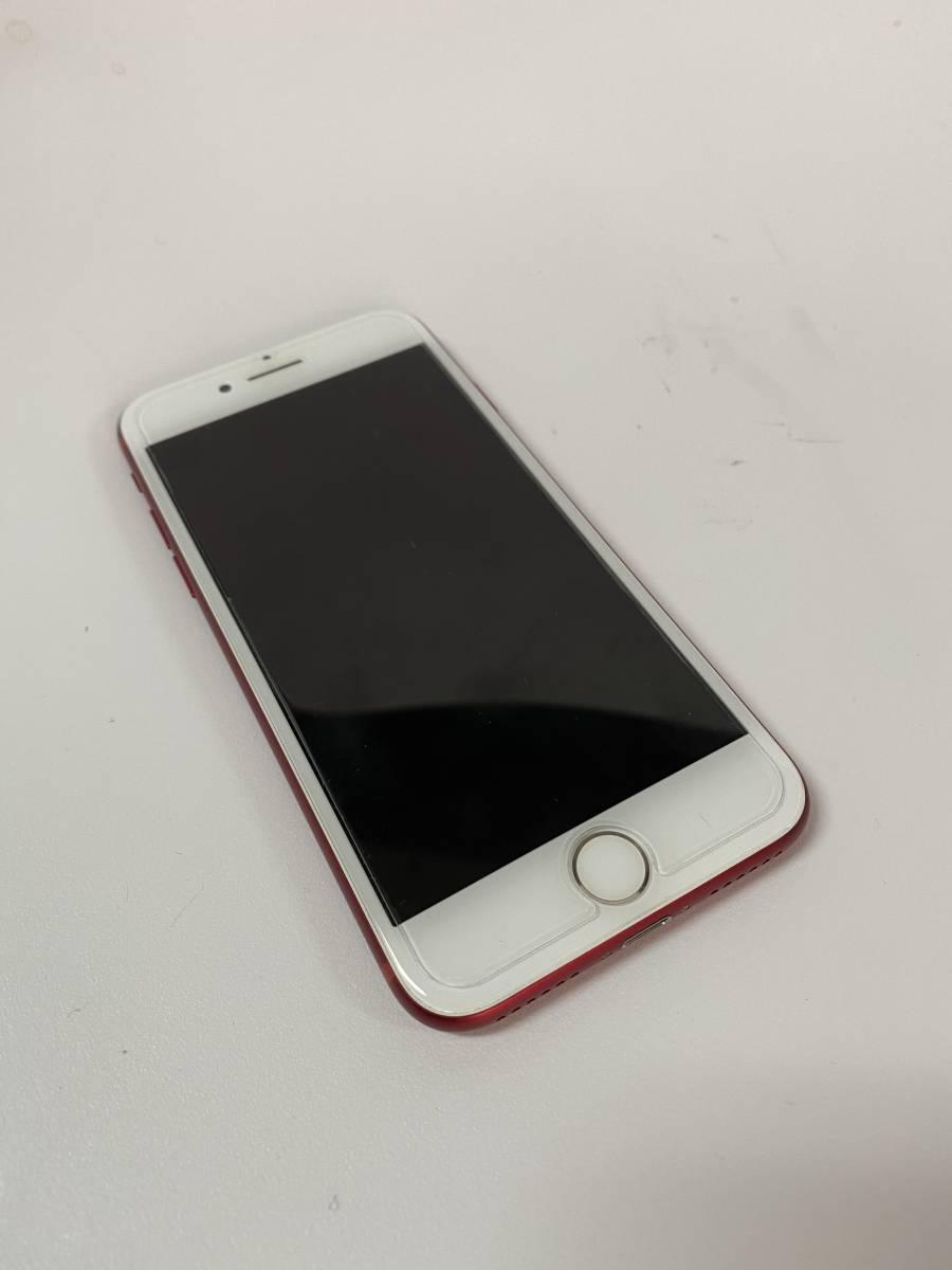 美品 Apple iPhone 7 256GB PRODUCT RED SIMフリー 付属品未使用 アップルストア購入_画像2