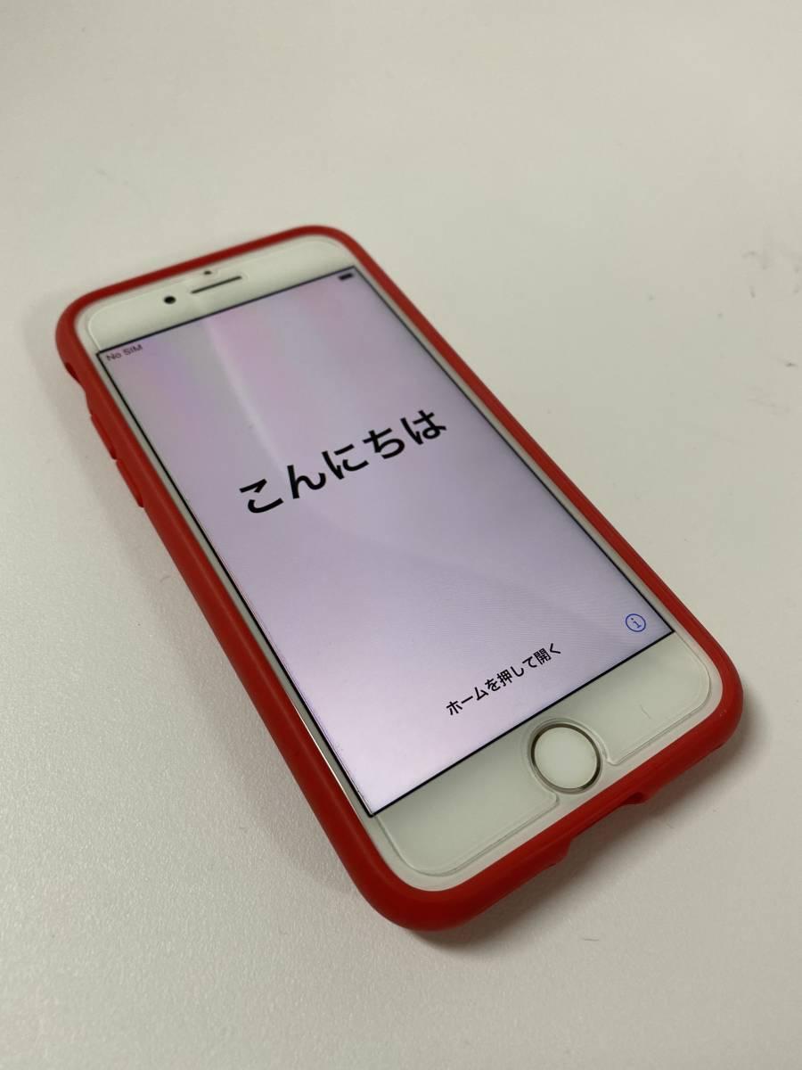 美品 Apple iPhone 7 256GB PRODUCT RED SIMフリー 付属品未使用 アップルストア購入_画像3