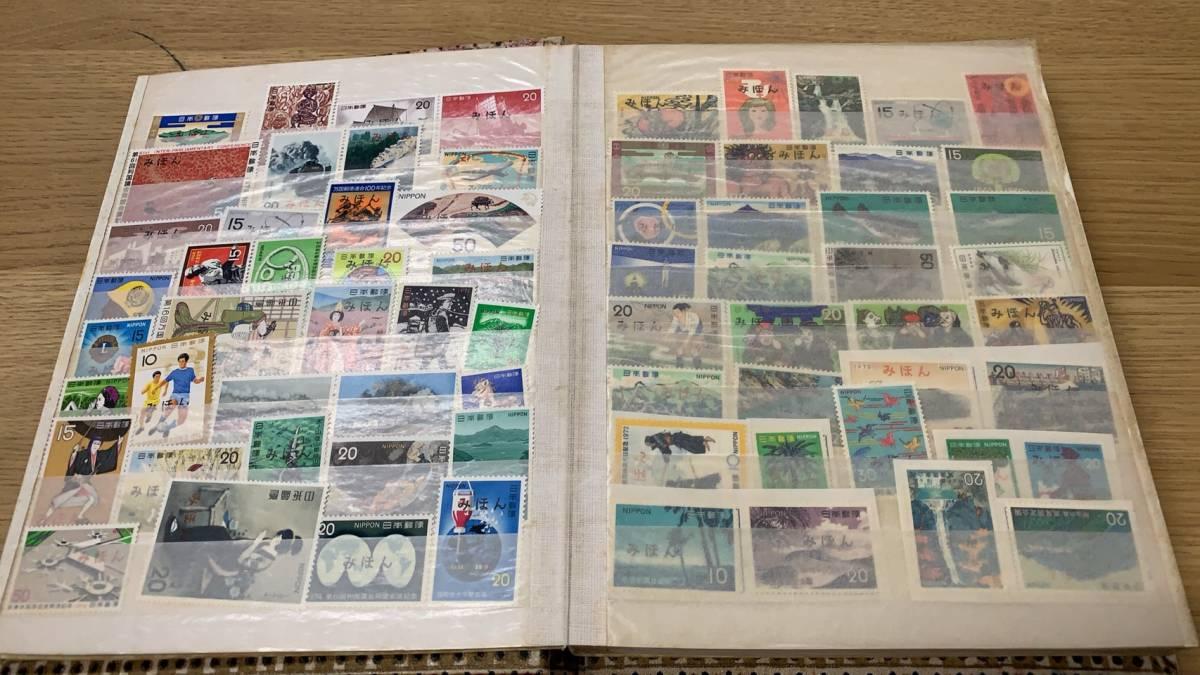 ~売り切り~遺品切手~日本切手 みほん 10ページ以上 切手大量有_画像3