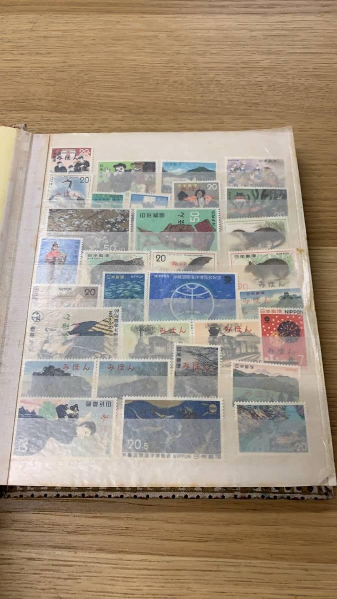 ~売り切り~遺品切手~日本切手 みほん 10ページ以上 切手大量有_画像2