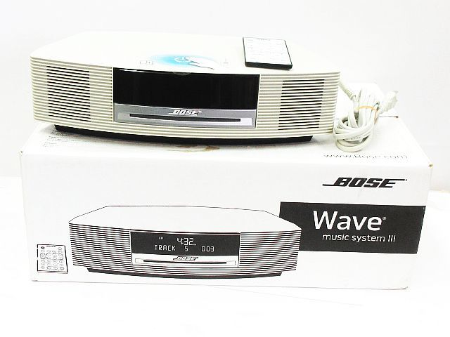 美品 動作確認済み BOSE ボーズ パーソナルオーディオシステム WAVE music system III ホ