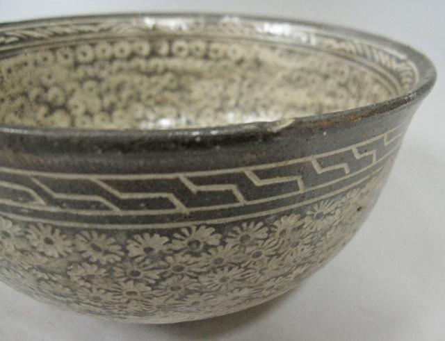 李朝 三島鉢 茶碗 李朝 陶磁器 韓国 朝鮮 茶道具_画像2