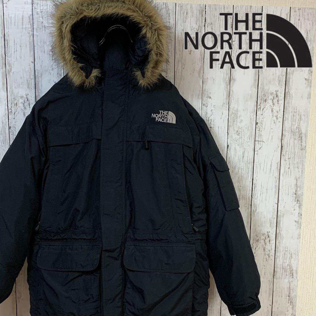 THE NORTH FACE ノースフェイス マクマードパーカ Lサイズ 中古品 ダウンジャケット