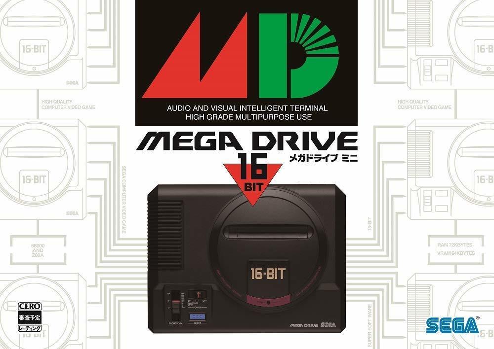 【新品】 メガドライブミニ 本体【アマゾン限定】オリジナルPC&スマホ壁紙 コントローラー 1個_画像1