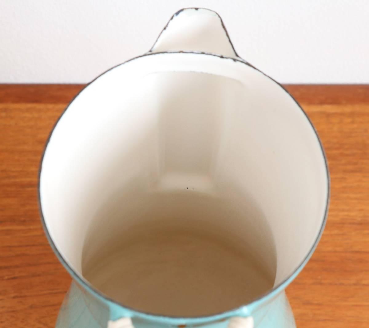 ダンスク DANSK KOBENSTYLE コーヒーポット Jens H Quistgaard イェンス クイストゴー コベンスタイル 琺瑯 (検)フィネル FINEL_画像6