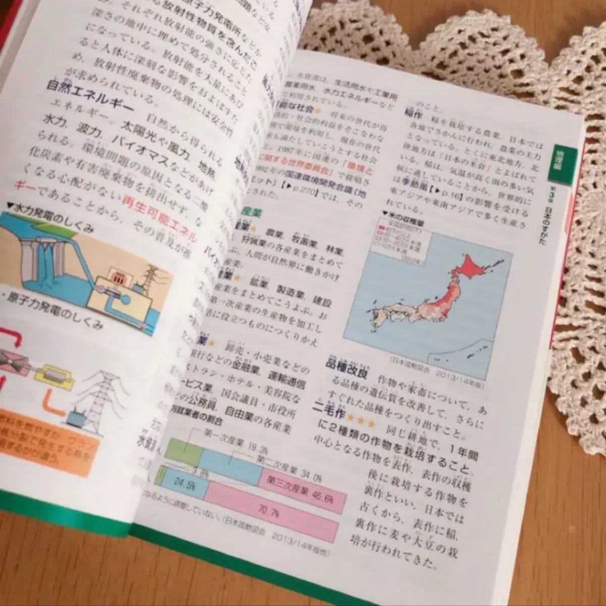 帯付き  旺文社 「中学社会用語集3200」