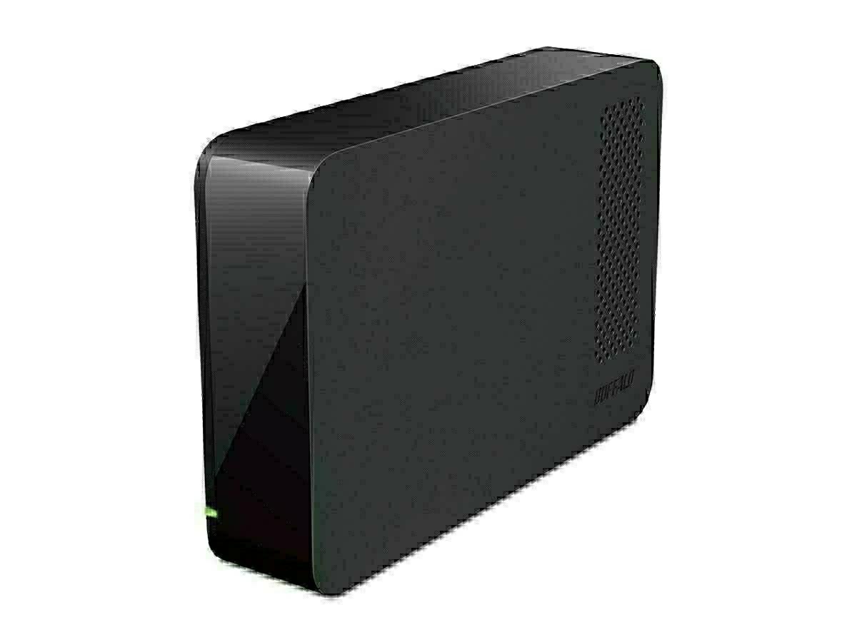 2TB BUFFALO HD-LC2.0U3-BKF 外付けHDD USB3.1(Gen1)/3.0/2.0対応 静音設計HDD テレビ録画 _画像1