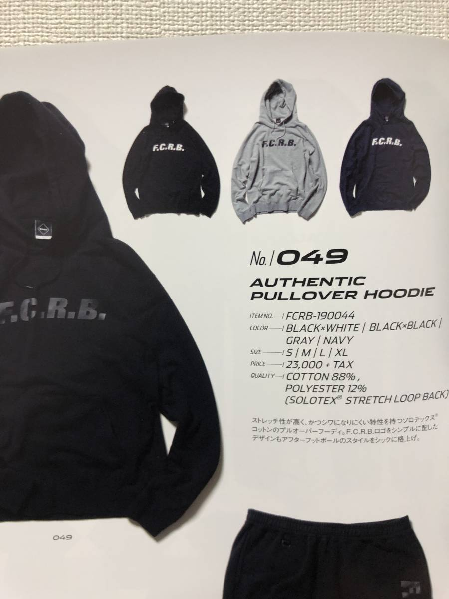 19SS F.C.R.B. F.C.Real Bristol AUTHENTIC PULLOVER HOODIE sizeS SOPH 美品 スウェット パーカー_画像8