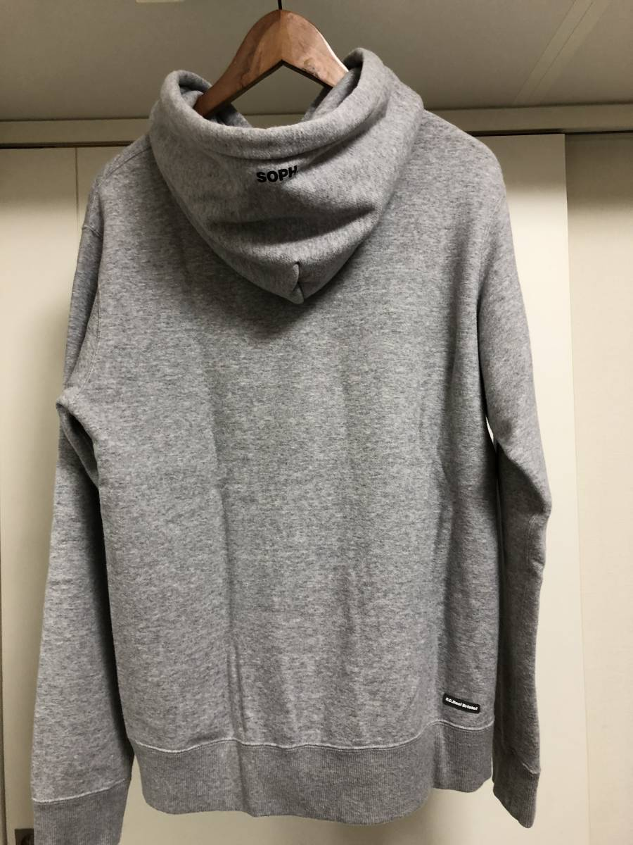 19SS F.C.R.B. F.C.Real Bristol AUTHENTIC PULLOVER HOODIE sizeS SOPH 美品 スウェット パーカー_画像5