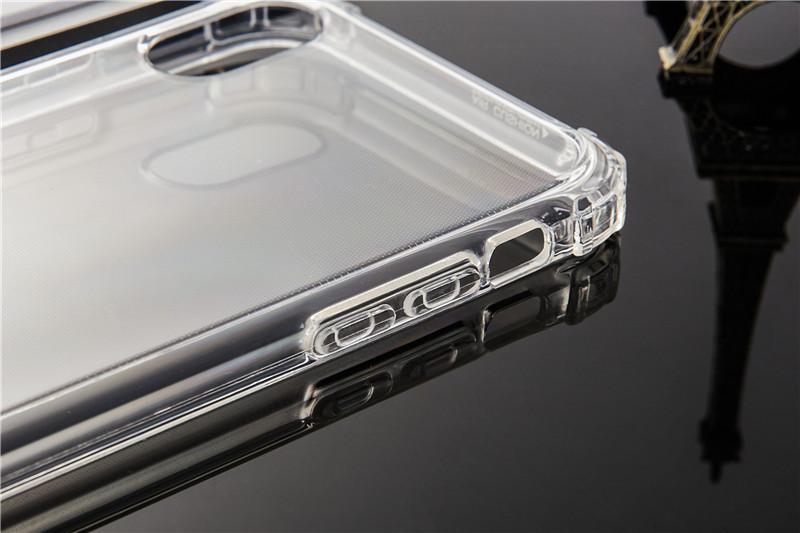 iPhone XS Max TPUケース透明ソフトクリアケース TPU 耐衝撃 衝撃吸収 ストラップホール付き 全面保護カバー 傷つけ防止_画像2