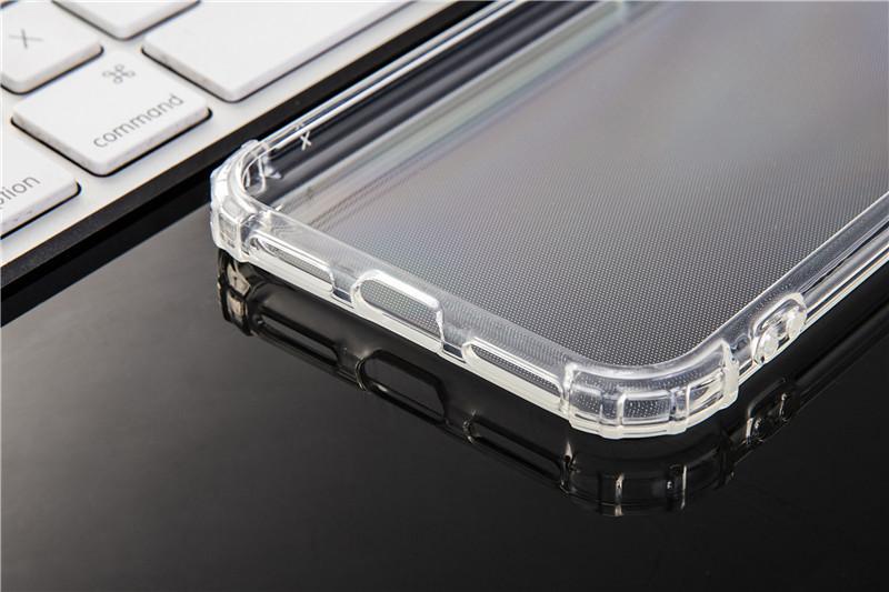 iPhone XS Max TPUケース透明ソフトクリアケース TPU 耐衝撃 衝撃吸収 ストラップホール付き 全面保護カバー 傷つけ防止_画像3