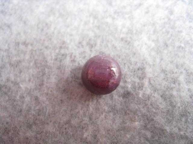 [SAMU]大粒!!天然サファイア10.8x10.8mm 裸石、ルース★重さ9.5ct _画像1
