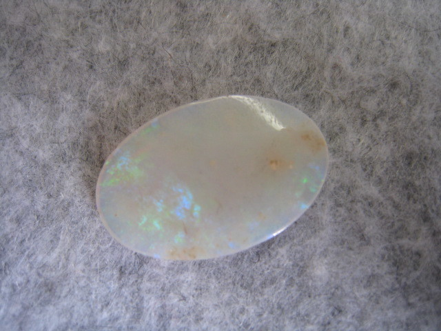 [SAMU]遊色抜群!!大粒天然オパール20mmx13mm 裸石、ルース★重さ約4.4ct!!_画像3
