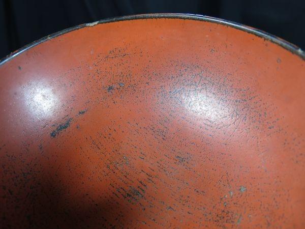 根来碗 アイヌ用 桃山~江戸時代前期 漆工 漆器 儀式用_画像5