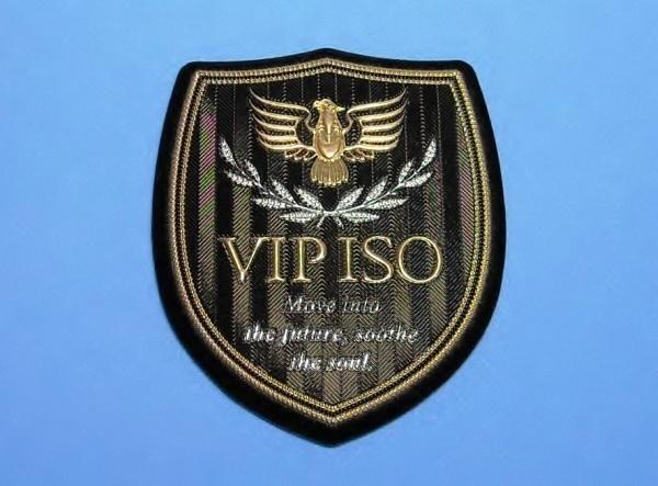 ダイワ 磯 DAIWA VIP ISO エンブレム ワッペン パッチ 68-76mm_画像1