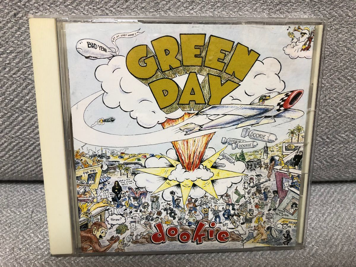 CDアルバム GREEN DAY「dookie」