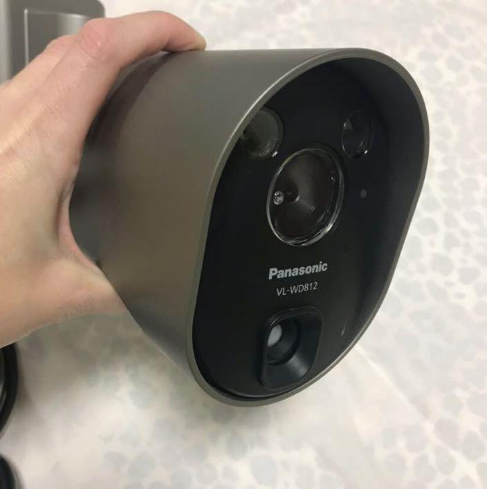 センサーライト付屋外ワイヤレスカメラ VL-WD812K
