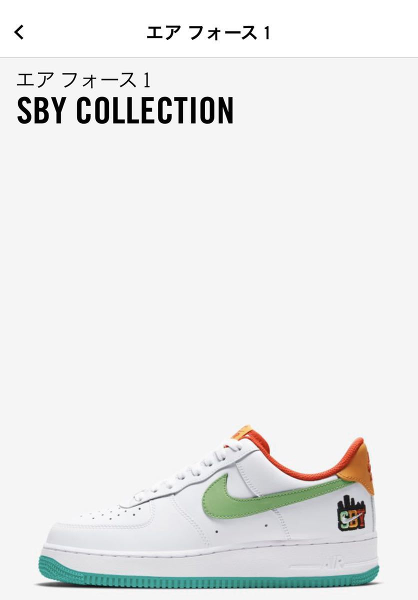 NIKE ナイキエアフォース1 SBY COLLECTION 26.5