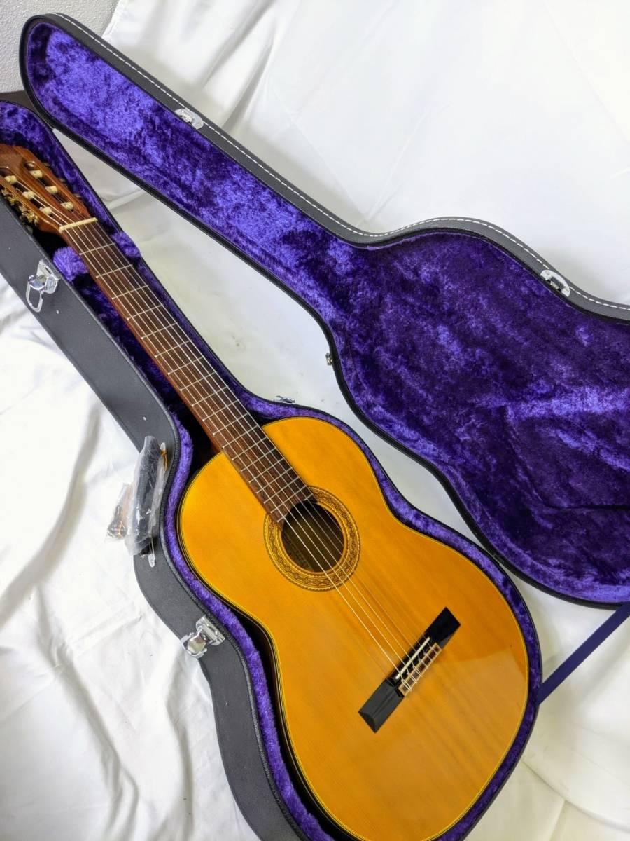 【sk000-p22】美品ハードケース付! TAKAMINE タカミネ エレガット EC-128 エレガットギター クラシックギター