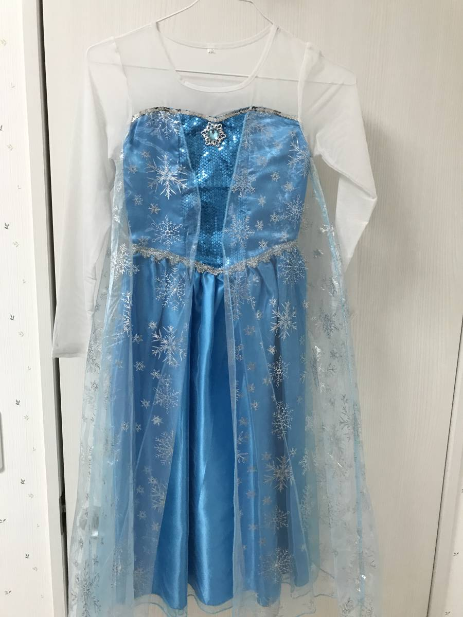 【美品】ドレス(アナと雪の女王:エルサ)