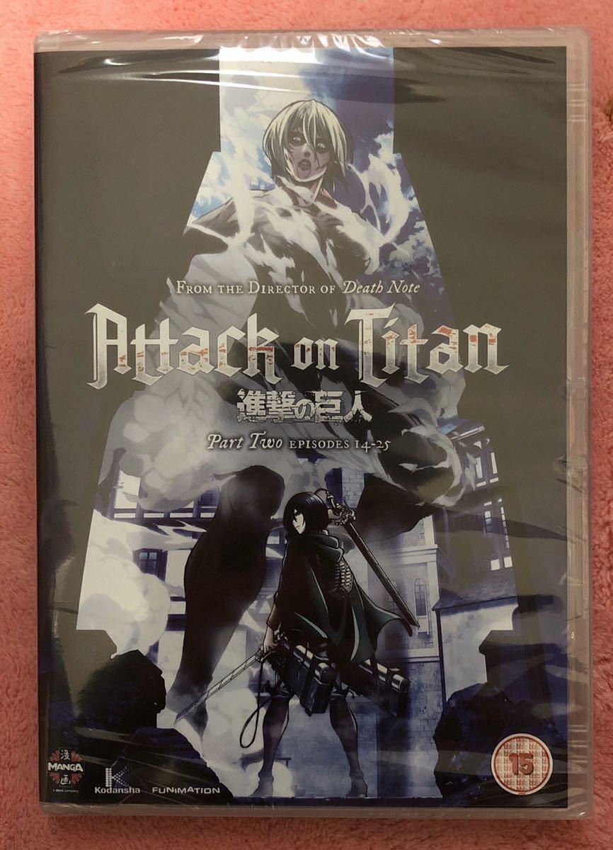 【送料無料】★進撃の巨人DVD / Attack On Titan