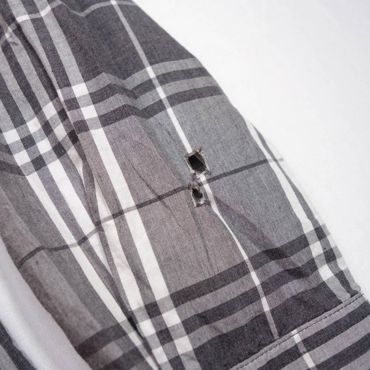 トミーヒルフィガー TOMMY チェックシャツ 長袖 メンズ M ボタンダウン カジュアル アメリカ USA直輸入 古着 MTH-3-2-0043_画像8