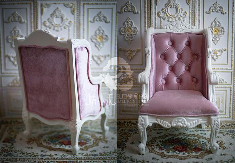 限定商品 ソファー BJD用家具 SD/70cmサイズ 色のオーダー可能 doll 椅子 球体関節人形用 撮影 インテリア JXHー001_画像3