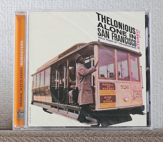 CD/JAZZ名盤/高音質リマスター/セロニアス・モンク/アローン・イン・サンフランシスコ/Thelonious Monk/Alone in San Francisco/Riverside_画像1