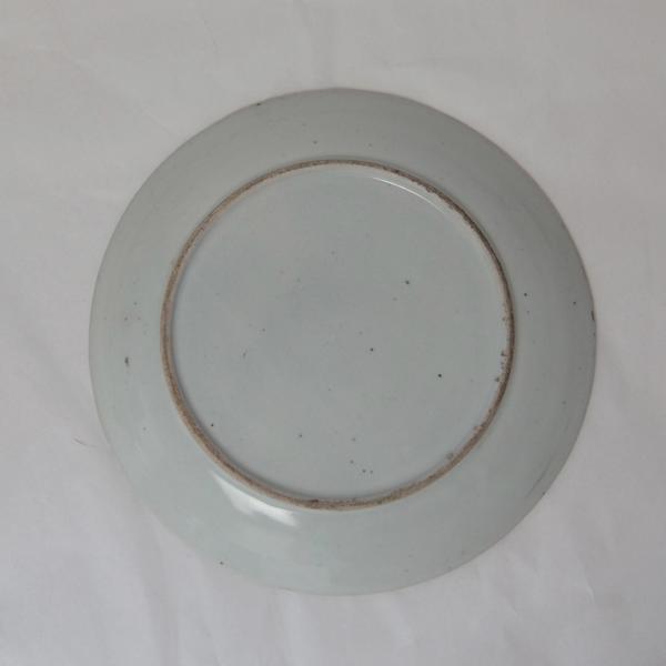 アンティーク 明治~大正時代◆約22cm 平皿 5枚組★和食器_画像4