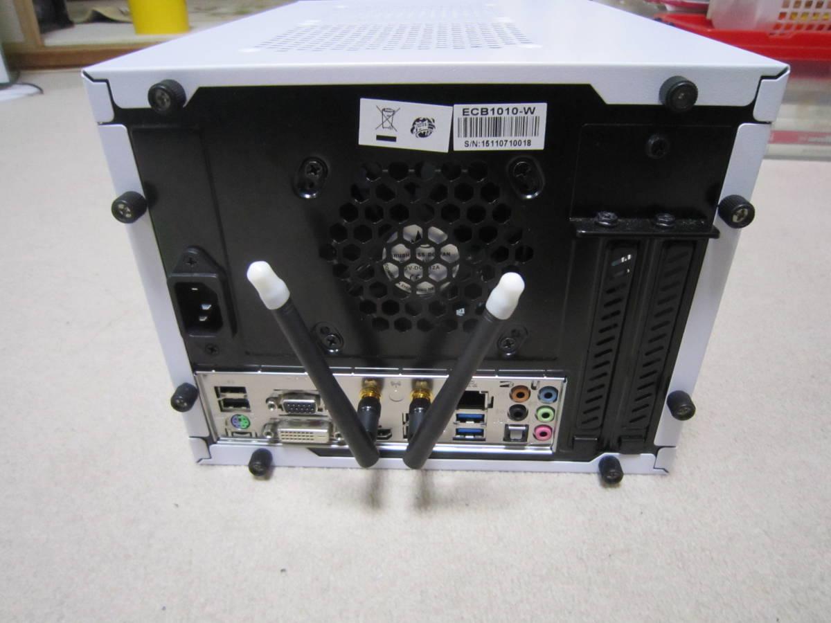 自作PC i7-4790 MiniITX HDD SATA600-500GB メモリ4GB×2(8GB)稼働確認済み_画像2