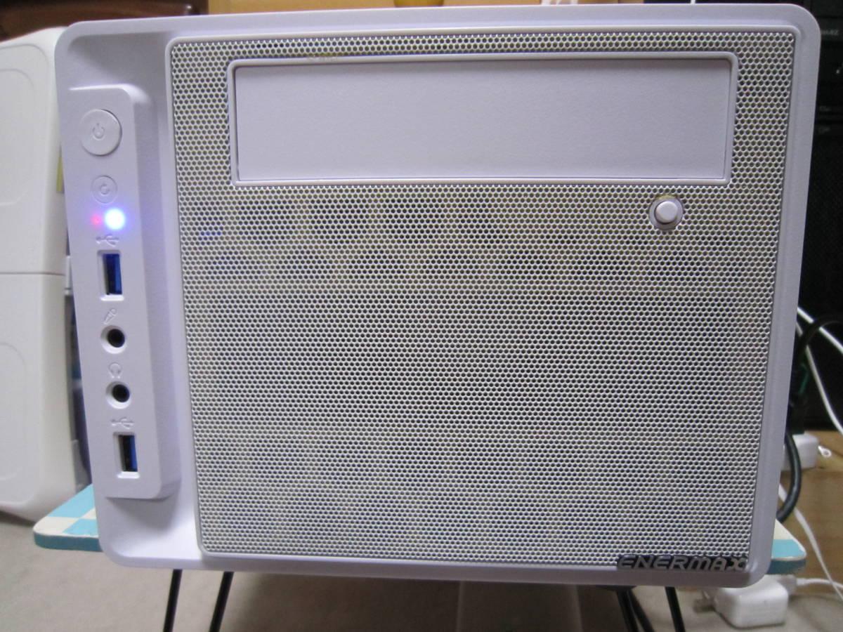 自作PC i7-4790 MiniITX HDD SATA600-500GB メモリ4GB×2(8GB)稼働確認済み_画像3