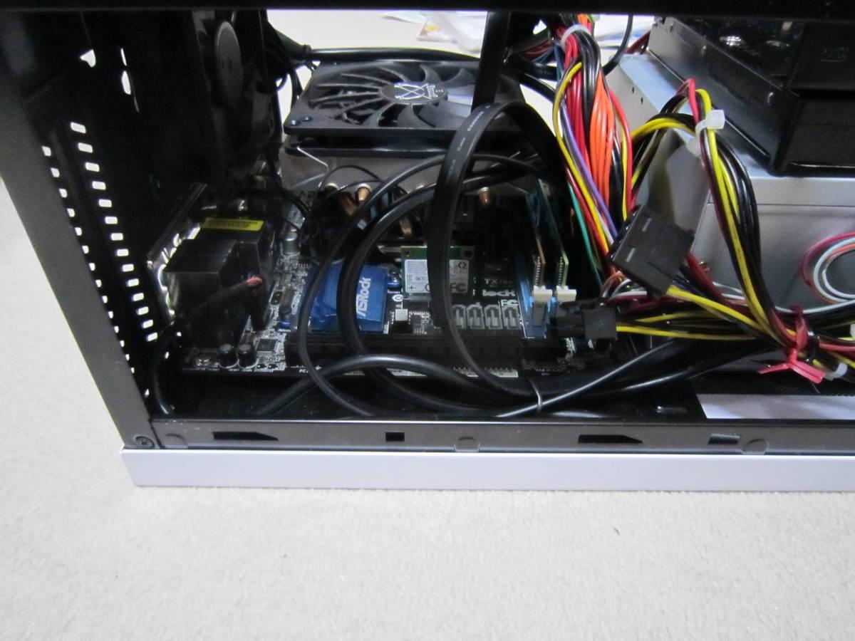 自作PC i7-4790 MiniITX HDD SATA600-500GB メモリ4GB×2(8GB)稼働確認済み_画像5