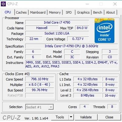 自作PC i7-4790 MiniITX HDD SATA600-500GB メモリ4GB×2(8GB)稼働確認済み_画像6