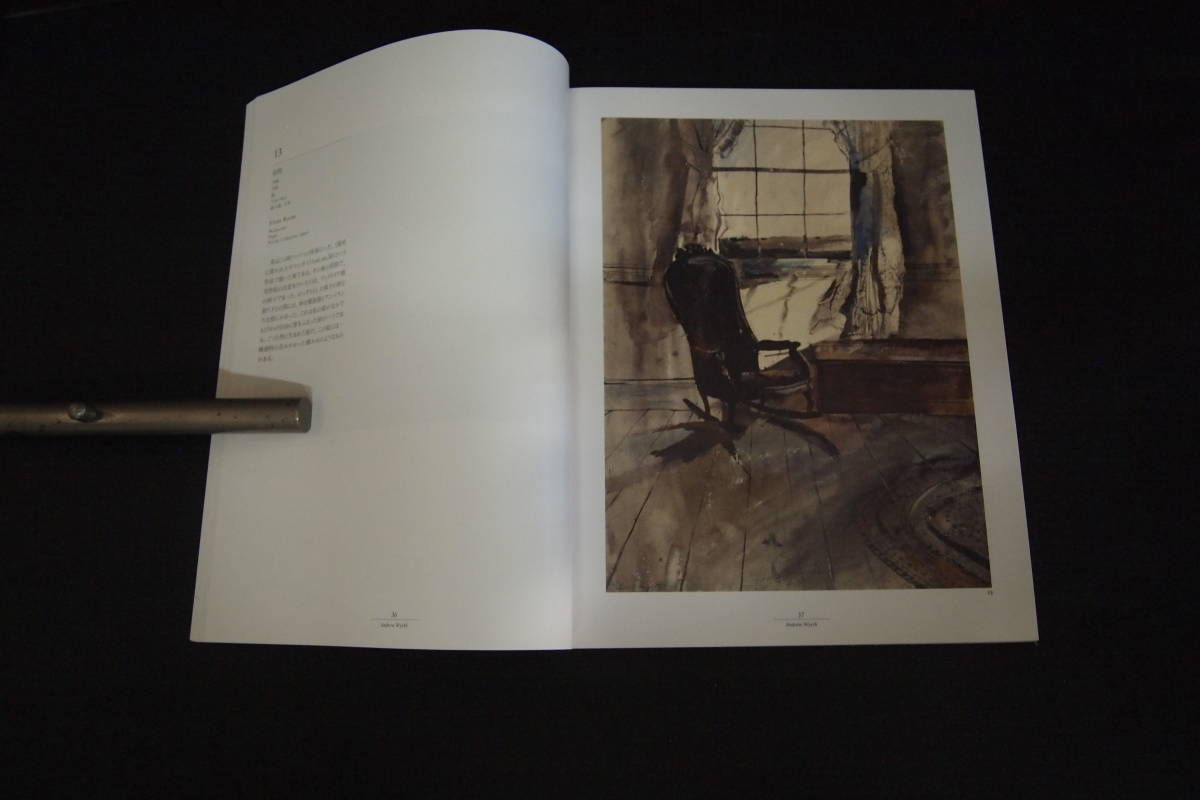 C-0983 アンドリュー・ワイエス展 ANDREW WYETH RETROSPECTIVE 1995 美術 アート 愛知県美術館 中日新聞社_画像4