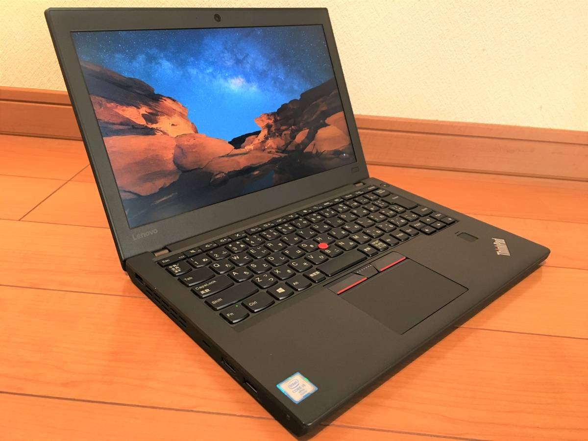 ★快適Full HD/詰放題ツインドライブ★Lenovo ThinkPad X270★Core i5-6300U/RAM8GB/解像度1920x1080 IPS/SSD256GB/HDD500GB★_画像2
