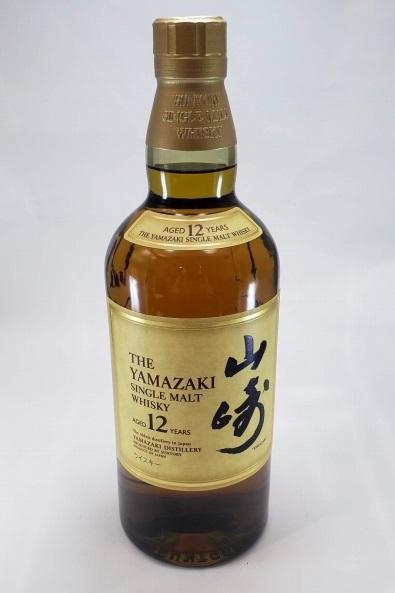 ⑤【未開栓】SUNTORY サントリー 山崎 12年 シングルモルト ウイスキー 700ml 43%_画像1