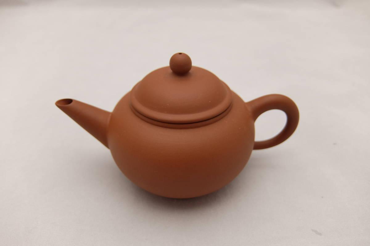 未使用 お茶の奈仁和園 茶器セット 急須と茶杯6個と茶船のセット 茶杯:直径5×高さ3cm 紫泥 朱泥 台湾 中国 茶具 茶器 お茶 道具 煎茶道具_画像6