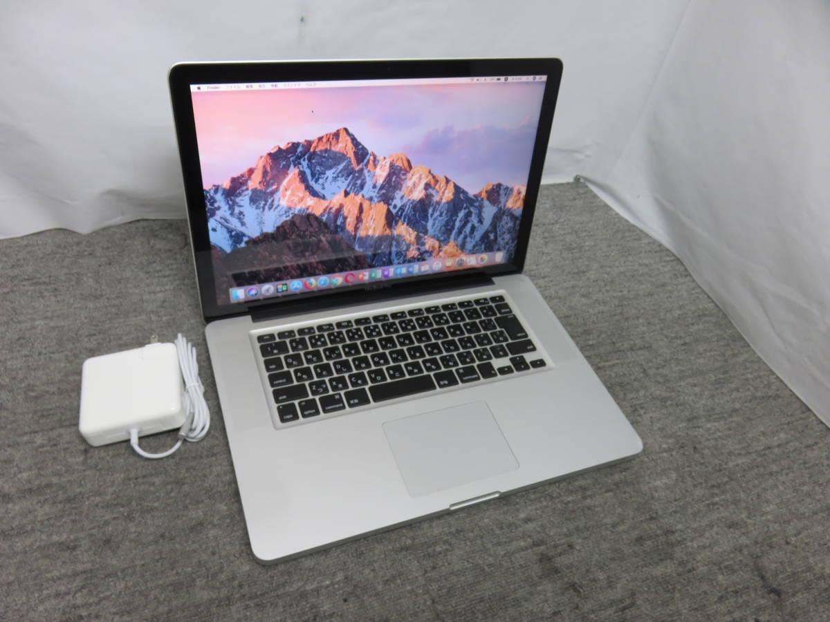MacBook Pro A1286 ◆高性能Core i7 / 16GB / 爆速SSD 512GB◆ PC1台で、ダブルmacOS &