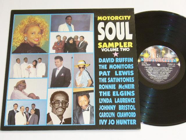 VA / MOTORCITY SOUL SAMPLER VOLUME TWO/ 1990年盤 / MOTCLP 12 / UK盤 / 試聴検査済み_画像1
