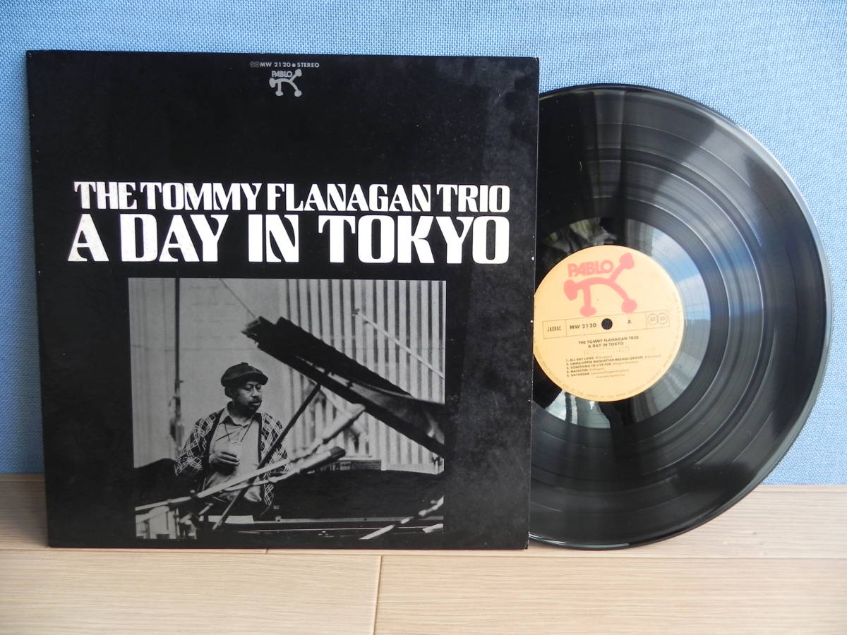 LP【国内盤/Pablo Records/ポリドール】The Tommy Flanagan Trio/ A Day In Tokyo ☆MW 2120/1975年_画像1