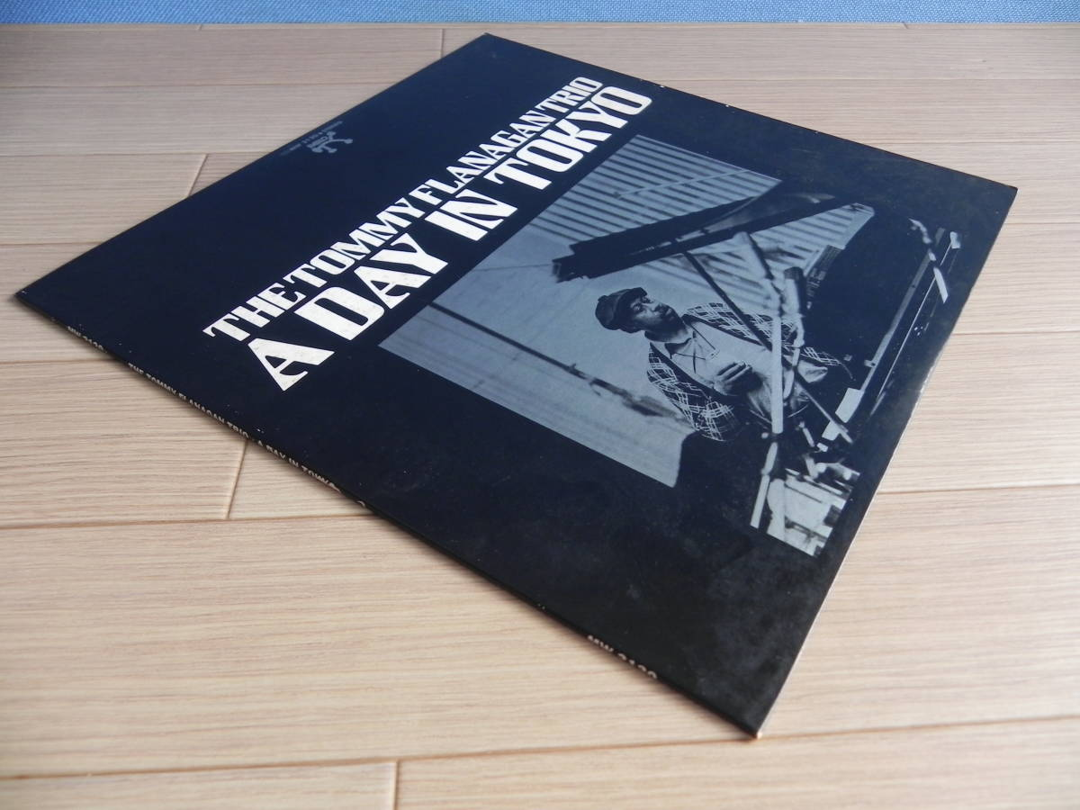 LP【国内盤/Pablo Records/ポリドール】The Tommy Flanagan Trio/ A Day In Tokyo ☆MW 2120/1975年_画像8