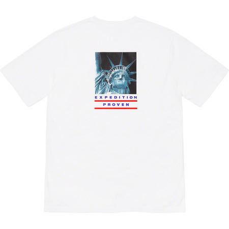 【Sサイズ】19aw Supreme × The North Face Statue of Liberty Tee White シュプリーム ノースフェイス Tシャツ ホワイト 白 TNF _画像1