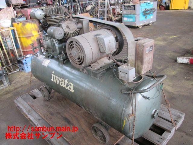 △岩田,コンプレッサー,TP-75NB,三相200V,7.5kw,2006年式,Compressor,iwata,_画像4