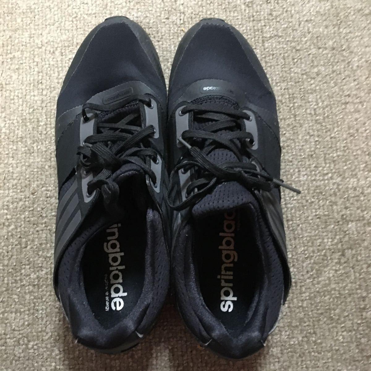 Adidas springs лезвие adidas springblade черный / серый 28.0