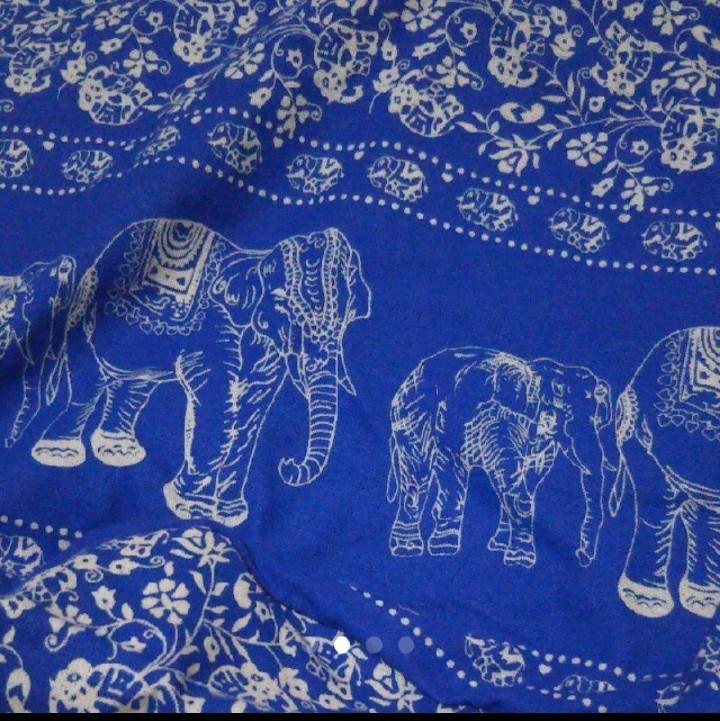 インド綿ショルダーバッグ