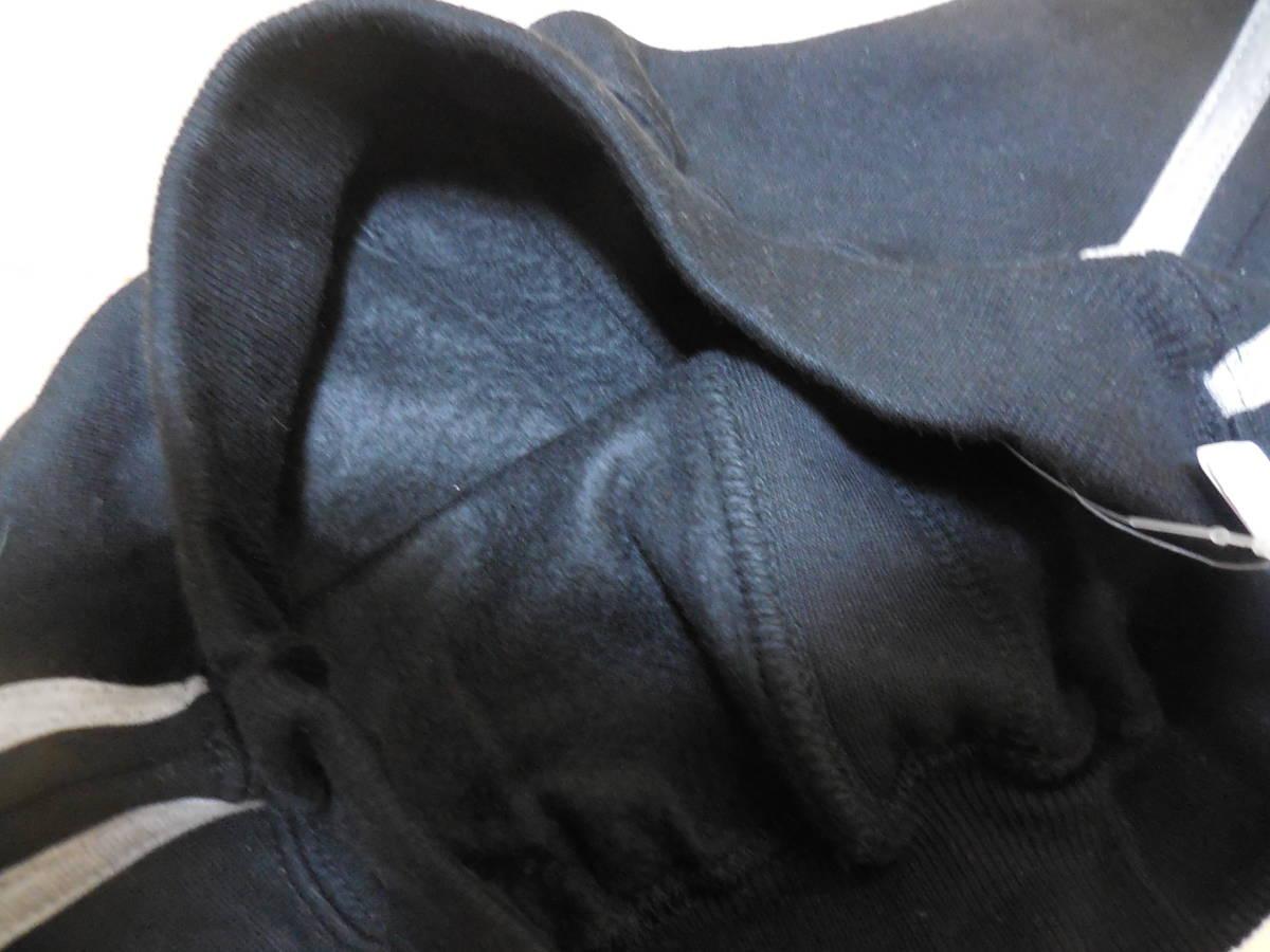 新品未使用 裏起毛パンツ 130 男子 黒 ブラック 長ズボン 西松屋 ロング あったか_画像3