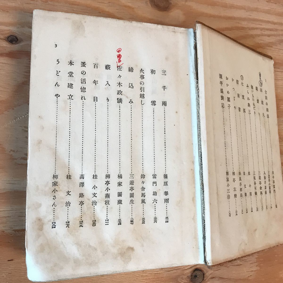 ◎えD-191128 レア[落語全集 中] 狂歌の餅 指南書 縁切榎_画像5
