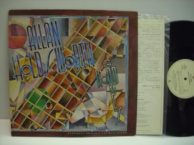 [LP] ALLAN HOLDSWORTH アラン・ホールズワース / ROAD GAMES ロード・ゲームス 国内盤 JACK BRUCE_画像1